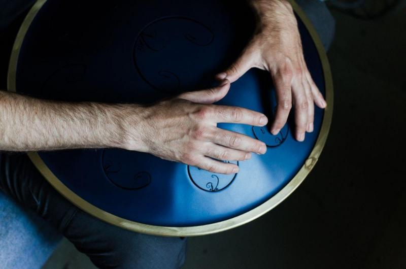 How to motivate yourself to playing the RAV steel drum and improve music listening skills?